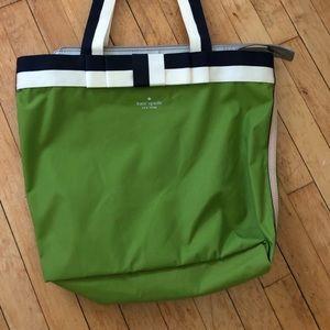 NWOT Kate spade canvas bag/purse